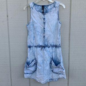 Jessica Simpson Juniors Denim Wash Dress